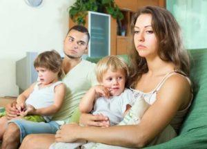 Как быть с двумя детьми без мужа
