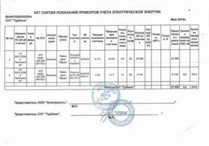 Акт снятия контрольных показаний приборов учета воды образец у юридического лица