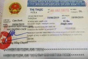 Въезд во вьетнам срок действия паспорта 2021