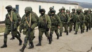 Военное подразделение в 100 человек