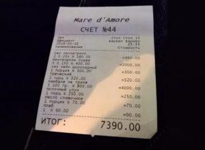 Не дают чек в ресторане что делать