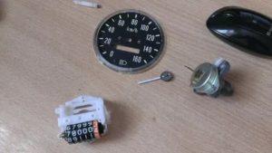 Как разобрать и сбросить механический спидометр