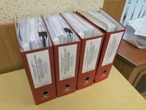 Как можно подписывать папки в офисе бухгалтерия