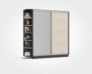Как устаовить двери шкаф купе рим 180
