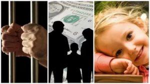 Если мужа посадили в тюрьму можно ли оформить выплаты от государства