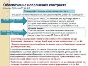 Виды обеспечения исполнения контракта