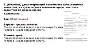 Реквизиты доверенности или иные документы подтверждающие полномочия