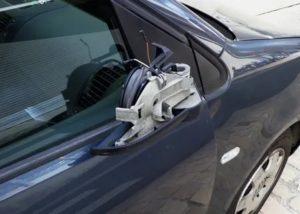 Задел зеркало другой машины и уехал что будет