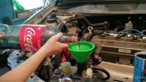 Как промыть систему охлаждения двигателя уксусом