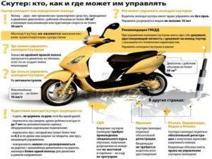 Нужны ли права для управления скутером до 50 кубов днр