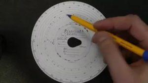 Как ставится шайба в тахографе
