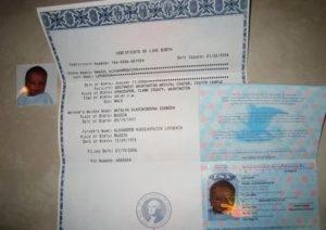 Получение британского гражданства для новорожденных