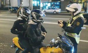 Мотоцикл без номеров штраф 2021