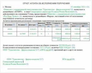 Агентский договор какие документы должен предоставить агент