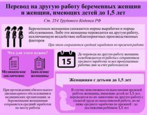 Предусмотрено ли законодательством возможность снижения норм выработки беременным женщинам