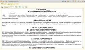Договор на разработку программного приложения