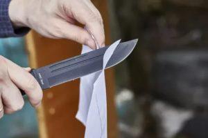 Возврат ножей в магазин