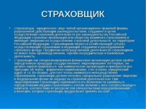 Кто может быть страхователем по российскому законодательству