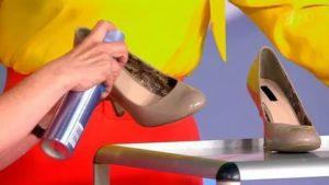 Можно ли через здать обувь если села пятка