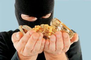 Какая статья за кражу золота