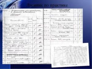Образец заполнения дневника по практике сварщик ручной сварки