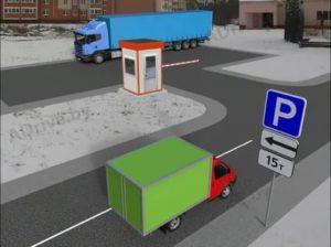 Пдд остановка на тротуаре для разгрузки