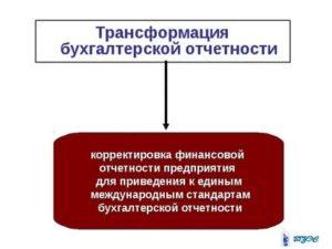 Трансформация отчетности обязательна в процессе оценки предприятия