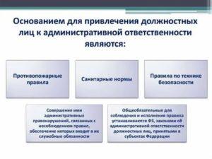 Административная ответственность должностного лица после его увольнения или ухода с должности