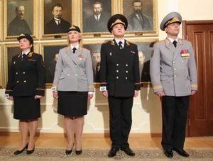 Право ношения полицейской формы одежды на пенсии